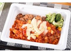 ファミリーマート 5種野菜ソースで食べる鶏ももオーブン焼き