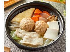 ファミリーマート 12品目の塩ちゃんこ鍋 ゆず風味