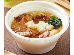 ファミリーマート にんにく背脂醤油ラーメン風スープ 麺なし