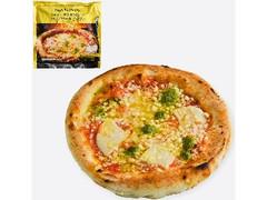 ファミリーマート お母さん食堂 手伸ばし・薪窯焼き製法のマルゲリータピザ