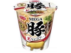 エースコック MEGA豚 どトンコツラーメン カップ95g