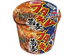 エースコック スーパーカップ 1.5倍 ブタキム蕎麦 カップ108g