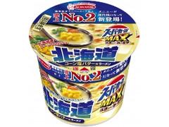 エースコック スーパーカップ MAX 北海道コーン 塩バター味ラーメン カップ112g