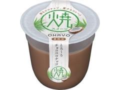 オハヨー 焼スイーツ とろ~りチョコココナッツ カップ100g
