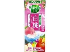 カゴメ 野菜生活100 白桃ミックス パック200ml