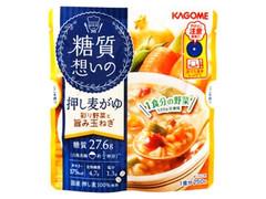 カゴメ 糖質想いの 押し麦がゆ 彩り野菜と旨み玉ねぎ