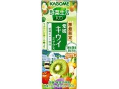 カゴメ 野菜生活100 愛媛キウイミックス パック195ml