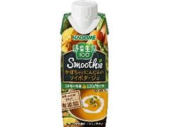 カゴメ 野菜生活100 Smoothie かぼちゃとにんじんのソイポタージュ パック250g