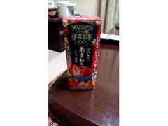 カゴメ 野菜生活100 あまおういちごミックス パック195ml