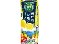 カゴメ 野菜生活100 瀬戸内レモンミックス パック195ml