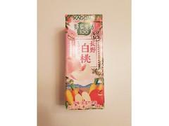 カゴメ 野菜生活100 長野白桃ミックス パック195ml