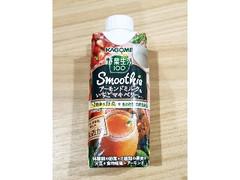 カゴメ 野菜生活100 Smoothie アーモンドミルク&いちごマキベリーMix パック330ml