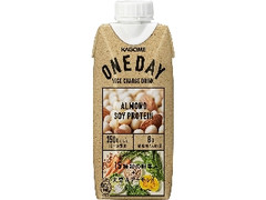 カゴメ ONEDAY ALMOND SOYPROTEIN パック330ml