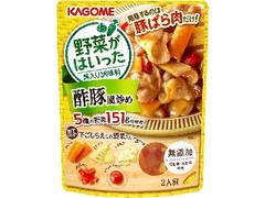 カゴメ 野菜がはいった具入り調味料 酢豚風炒め 袋170g