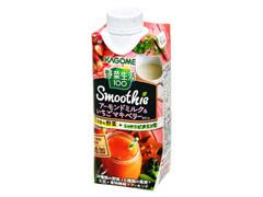 カゴメ 野菜生活 スムージー アーモンドミルク&いちごマキベリーミックス ボトル330ml