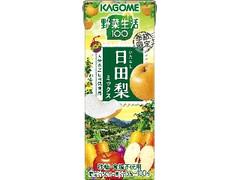 カゴメ 野菜生活100 日田梨ミックス パック195ml