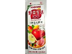 カゴメ 野菜生活100 アップルサラダ パック1000ml