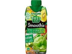 カゴメ 野菜生活100 Smoothie グリーンスムージー ゴールド&グリーンキウイMix