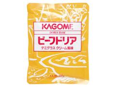 カゴメ ビーフドリア デミグラスクリーム風味 袋180g