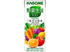 カゴメ 野菜生活100 オリジナル パック200ml