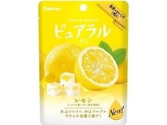 カバヤ ピュアラルグミ レモン 袋45g