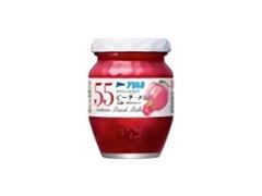アヲハタ55 ピーチ・メルバ 白桃・ラズベリー 瓶150g