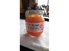 アヲハタ55 ミックスジャム きれいな甘さ 夏の白桃&グァバ グレープフルーツ入り 瓶310g