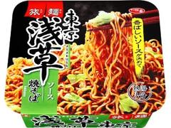 サッポロ一番 旅麺 浅草 ソース焼そば カップ109g
