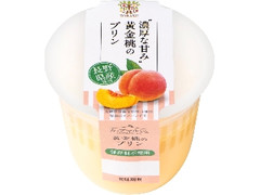 トーラク カップマルシェ 黄金桃のプリン カップ95g