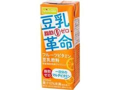 ソヤファーム 豆乳革命 フルーツビタミン豆乳飲料 パック200ml