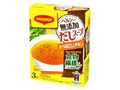 ネスレ マギー ヘルシー無添加だしスープ かつおだしとチキン 箱8.1g×3
