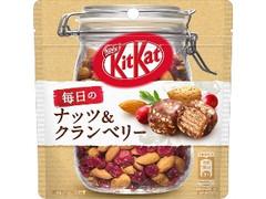 ネスレ キットカット 毎日のナッツ&クランベリー 袋36g