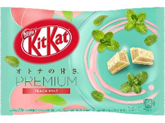 ネスレ キットカット ミニ オトナの甘さ プレミアム ピーチミント 袋12枚