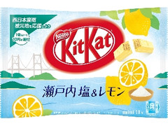 ネスレ キットカット ミニ 瀬戸内塩&レモン 袋11枚