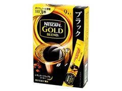 ネスカフェ ゴールドブレンド スティック ブラック 箱2g×9