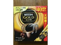 ネスカフェ ゴールドブレンド スティックブラック 箱2g×40
