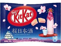 ネスレ キットカット ミニ 桜日本酒 袋12枚