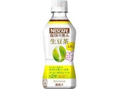 ネスカフェ 珈琲の恵み 生豆茶 レモン ペット340ml
