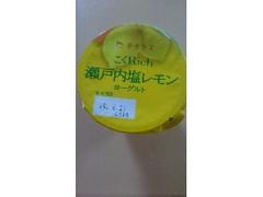チチヤス こくRich 瀬戸内塩レモンヨーグルト カップ100g