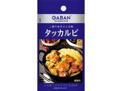 GABAN シーズニング タッカルビ 袋16.7g
