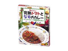 ハウス 完熟トマトとなすのカレー中辛 箱210g