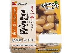 フジッコ おまめさん豆小鉢 こんぶ豆 パック65g×2