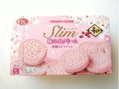 YBC スリムサンド 桜小豆クリーム 箱3枚×6