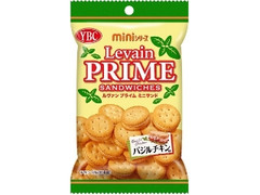 YBC ルヴァンプライムミニサンド バジルチキン味 袋50g