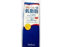 ローソンストア100 VL カルシウム+鉄 低脂肪 パック1000ml