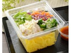 ローソン 鶏ささみとオクラのこんにゃく麺サラダ