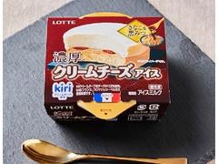 ローソン ロッテ 濃厚クリームチーズアイス きなこ黒みつ 120ml