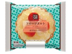 ローソン Uchi Cafe' SWEETS フルーツタルト 苺と白桃 淡路島産牛乳入りカスタード使用