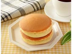 ローソン バター広がるホットケーキ メープル&発酵バター入りホイップ 2個入