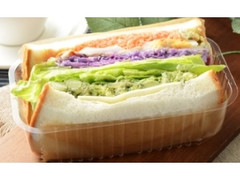 ローソン 1食分の野菜が摂れるサンド 6種野菜とチキン